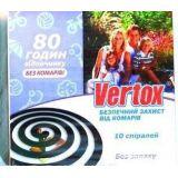 VERTOX спирали от комаров, 10 шт.