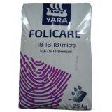 Folicare 18-18-18+micro 25 кг (Yara)