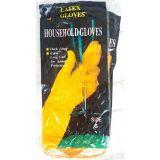 Перчатки латекстные Household Gloves S