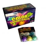 Цветные шары духовки Color smoke balls 0860 (уп. 6 шт)