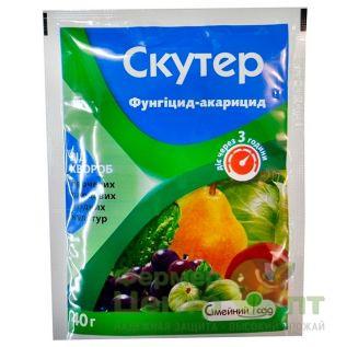 Фунгицид-акарицид Скутер 40 гр. (Семейный Сад)