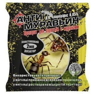 Инсектицид Антимуравьин 2 мл.