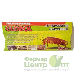 Globol - шприц-гель от тараканов и муравьев, 35 г