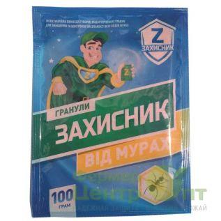 Гранулы Защитник 100 г  – инсектицид от муравьев (Укравит)