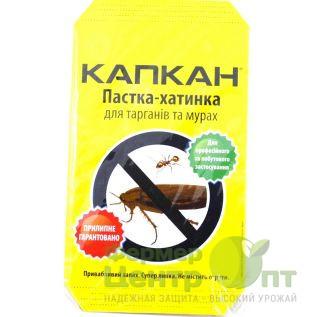 Капкан Пастка-Хатинка (Липкий дом - клейкое средство) от насекомых