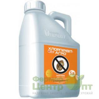 Инсектицид Хлорпиривит-агро, 5 л. (Укравит)