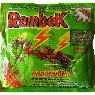 Рембек гранулы 125 гр. - от медведки и муравьев