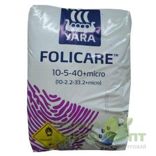 Folicare 10-5-40+micro 25 кг – микроудобрение (Yara)