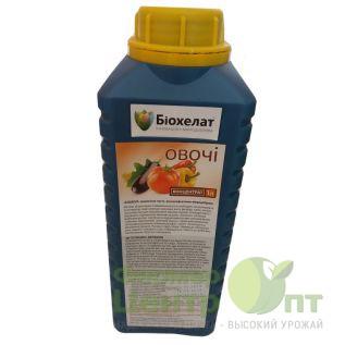 Микроудобрение Овощи 1 л (Биохелат)
