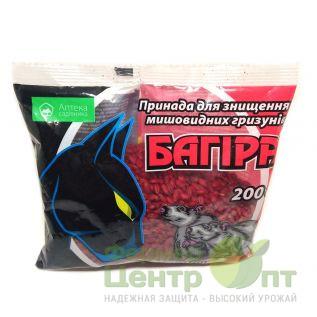 Багира зерно 200 г - средство от грызунов (УкраВит)