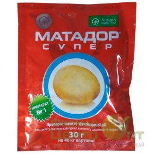 Матадор Супер 30 г – протравитель (Укравит)