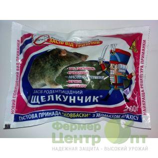 Родентицид Щелкунчик (тестовые колбаски), 200 г (Агромаг)