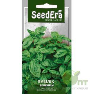 Семена Базилик зеленый, раннеспелый, 0,5 г (SeedEra)