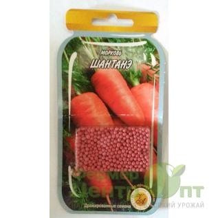 Дражированные семена Морковь Шантанэ, среднеспелая, 600 шт (L A)