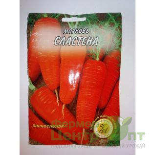 Семена Морковь Сластена, раннеспелая, 20 гр. (L A)