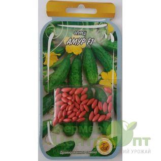 Дражированные семена Огурец Амур F1, суперранний, 45-55 шт. (L A)