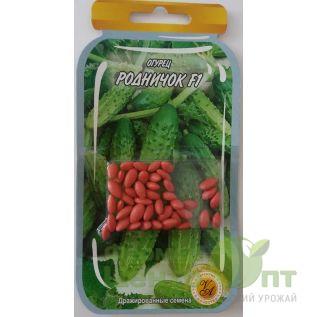 Дражированные семена Огурец Родничок F1, среднеранний, 45-55 шт. (L A)