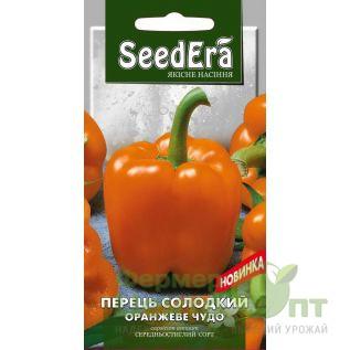 Семена Перец сладкий Оранжевое Чудо, среднеспелый, 0,2 г (SeedEra)