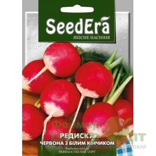Семена Редис Красный с белым кончиком, раннеспелый, 20 г (SeedEra)