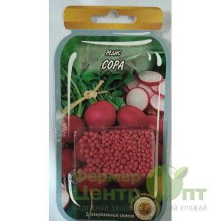 Дражированные семена Редис Сора, раннеспелый, 300 шт (L A)