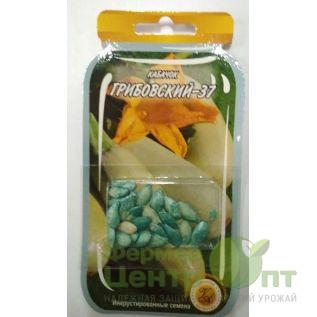 Дражированные семена Кабачок Грибовский-37, раннеспелый, 3 г (L A)
