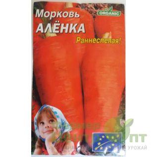 Семена Морковь Аленка, раннеспелая, 20 г (Organic)