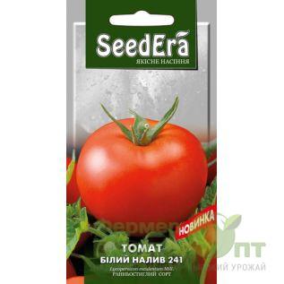 Семена Томат Белый Налив 241, раннеспелый, 0,2 г (SeedEra)