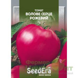 Семена Томат Воловое сердце розовый, среднеспелый, 3 г (SeedEra)