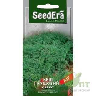 Семена Укроп кустовой Салют, позднеспелый, 20 г (SeedEra)