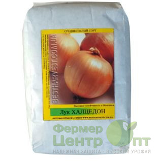 Семена Лук Халцедон, среднеспелый, 500 г (Фермер Центр Опт)